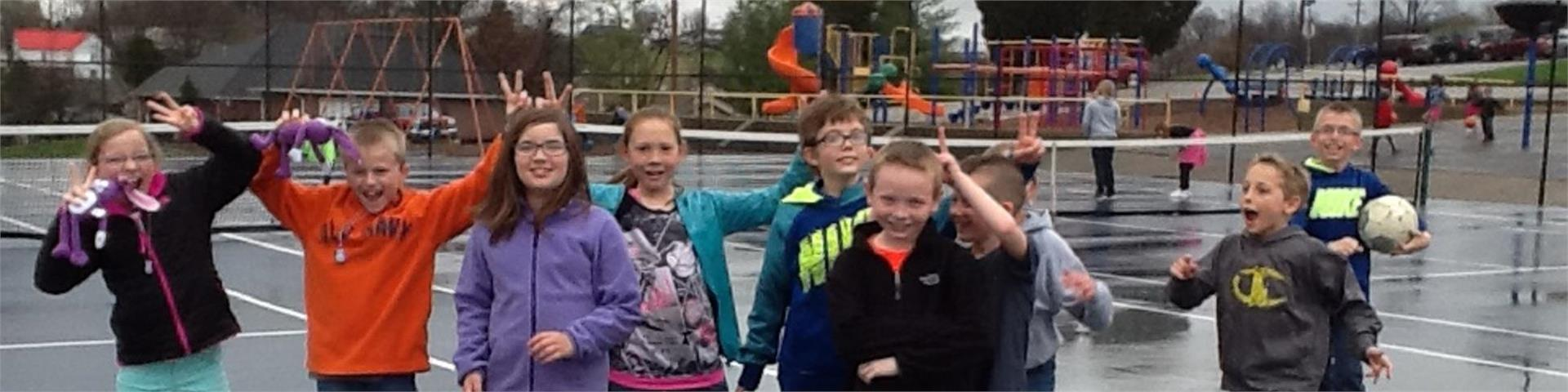 Students enjoy recess!
